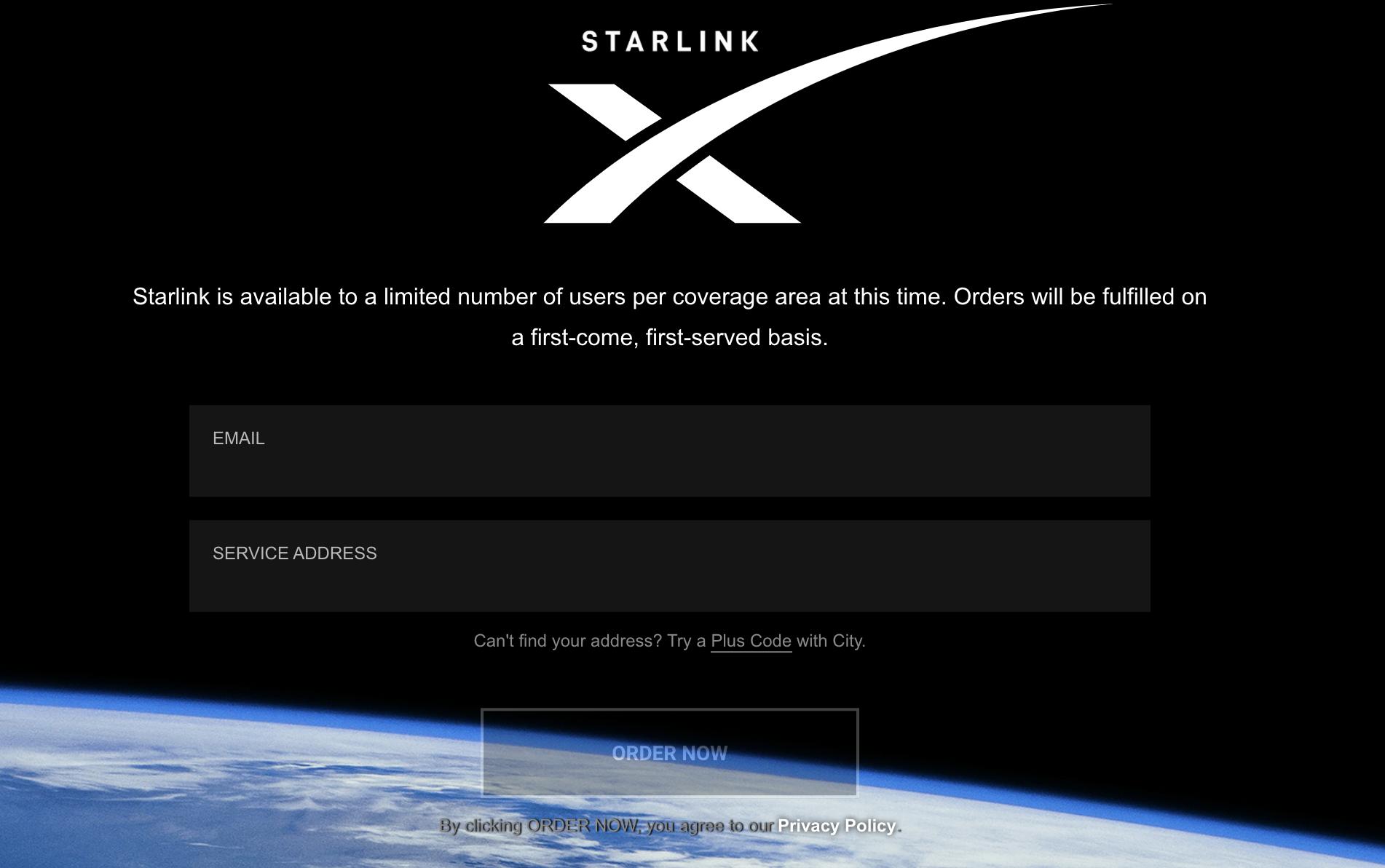 Starlink 星鏈計畫 全球衛星網路