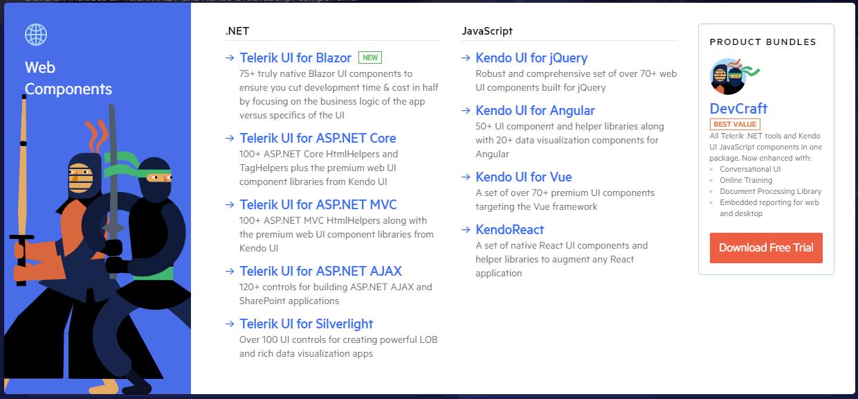 Kendo UI 萬用的JS套件 (圖表 UI 樣式