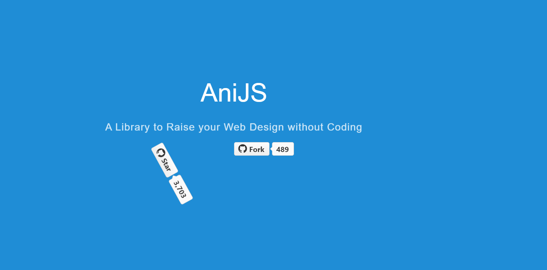 AniJS 用HTML也能寫出生動的畫面